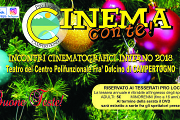 CINEMA CON TE! incontri cinematografici